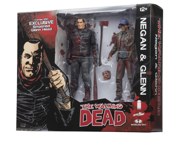Skybound 2016 SDCC Exclusives The Walking Dead's Negan and Glenn
