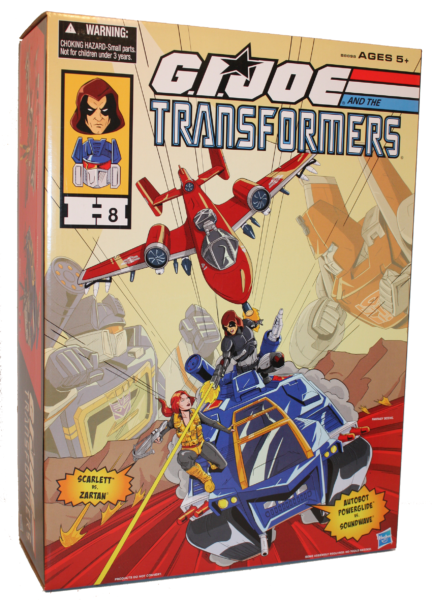 Hasbro 2016 SDCC Exclusive G.I. Joe and the Transformers Set
