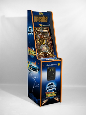 Back to the Future 2-in-1 digital pinball and arcade machine