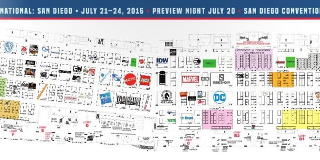 2016 SDCC Exhibitor Map NOW LIVE   Comic Con Blog Sdcc Map on halloween map, otakon map, pax map, thundercats map, transformers map, convention map, sandman map, the dark knight map, tron map, thanksgiving map, tmnt map, black widow map, avengers map, spiderman map,
